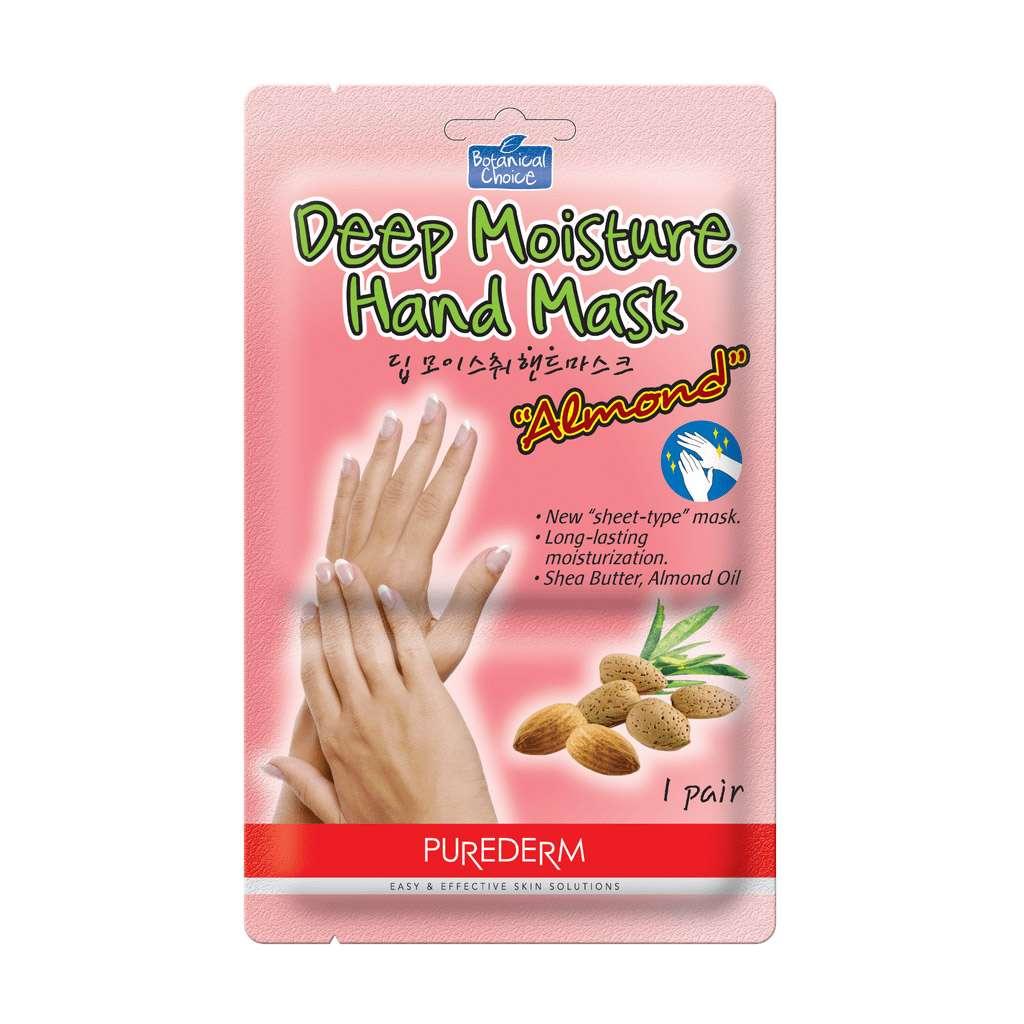 Purederm - Botanical Choice's Deep Moisture Hand Mask (Almond & Shea Butter)